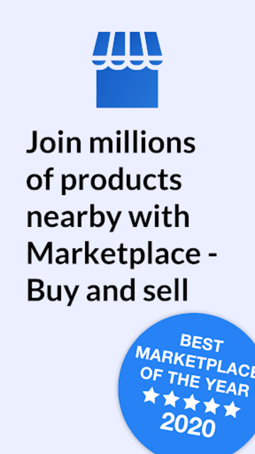 Marketplace - Buy and sell screenshot 1