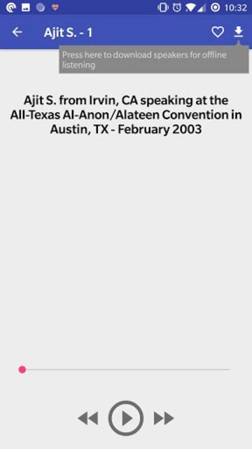 Al-Anon Speakers - ALANON Speaker Tapes screenshot 5