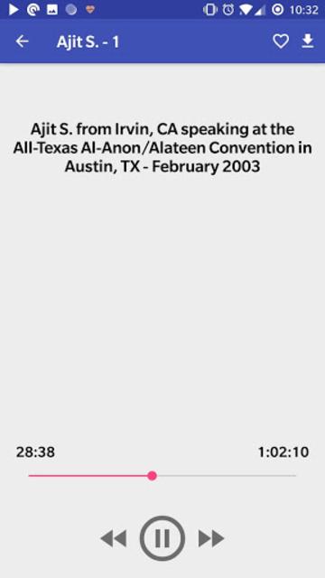 Al-Anon Speakers - ALANON Speaker Tapes screenshot 6