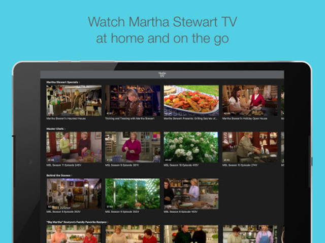Martha Stewart TV screenshot 12