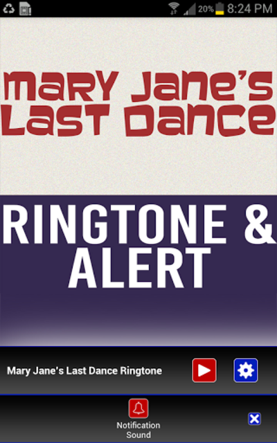 Mary Janes Last Dance Ringtone screenshot 3