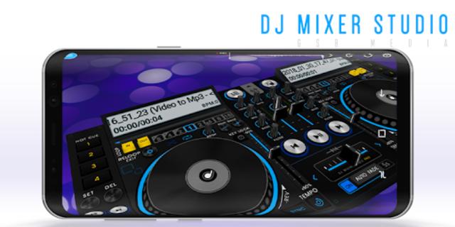 DJ Mixer Studio 2018 screenshot 1