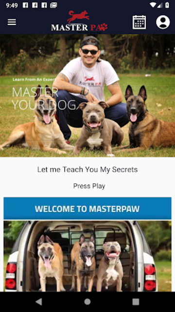 Master Your Dog Training App screenshot 1
