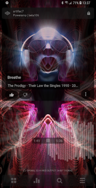 Poweramp Music Player (Trial) screenshot 3