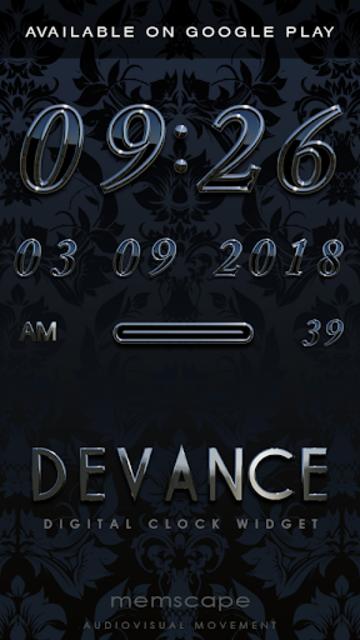 DEVANCE Poweramp skin V2 screenshot 5