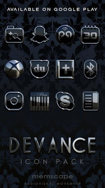 DEVANCE Poweramp skin V2 screenshot 6