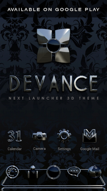 DEVANCE Poweramp skin V2 screenshot 8