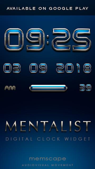 MENTALIST Poweramp skin screenshot 6