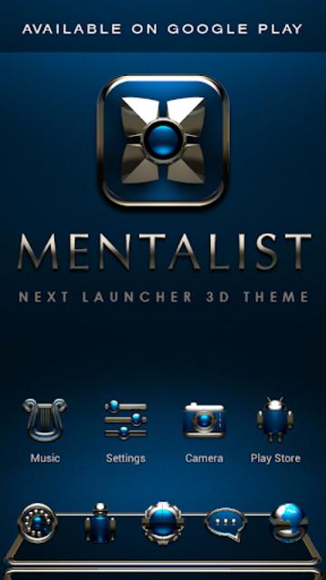 MENTALIST Poweramp skin screenshot 7
