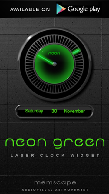 NEON GREEN Poweramp skin screenshot 6
