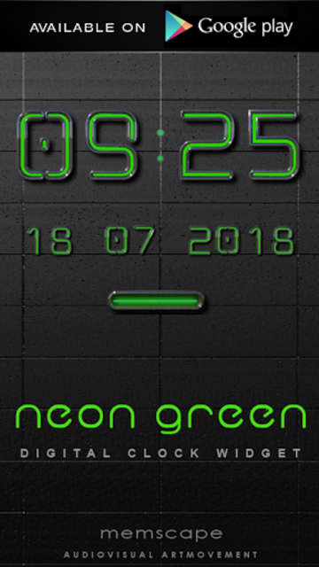 NEON GREEN Poweramp skin screenshot 7