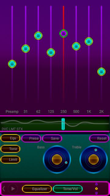 NEON - Z Poweramp Skin V2 screenshot 2