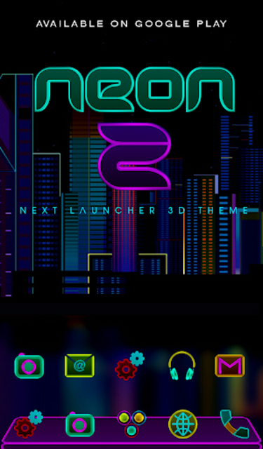 NEON - Z Poweramp Skin V2 screenshot 7