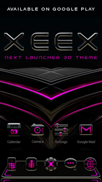 XEEX Poweramp Skin screenshot 6