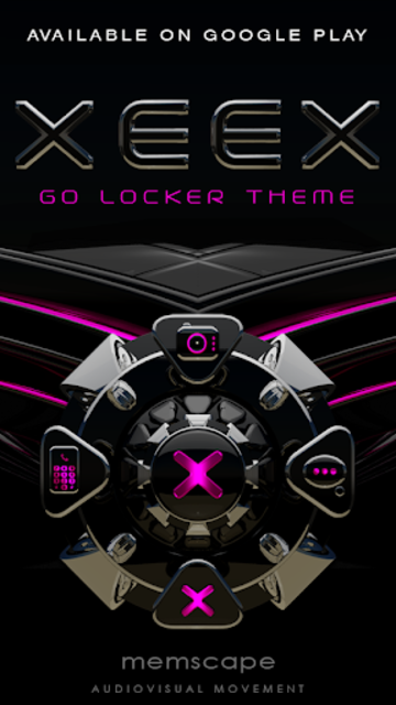 XEEX Poweramp Skin screenshot 7