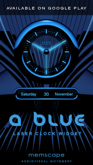 A-BLUE Poweramp skin V2 screenshot 4