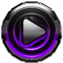 Icon for Poweramp skin Purple Glow