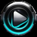 Icon for Poweramp skin Turquoise Glow
