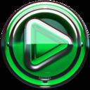 Icon for Poweramp skin Green Glas delux