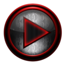 Icon for Poweramp skin STEEL OF I. RED
