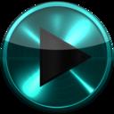 Icon for Poweramp SKIN TURQUOISE METAL