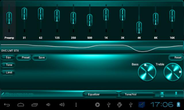 Poweramp SKIN TURQUOISE METAL screenshot 7
