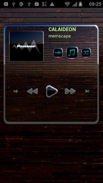 CALAIDEON Poweramp Widget screenshot 2