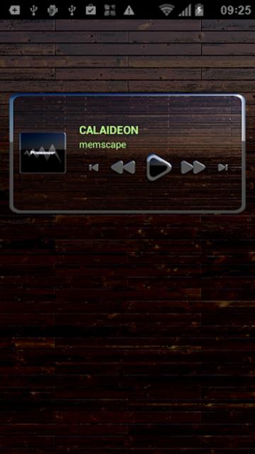 CALAIDEON Poweramp Widget screenshot 3