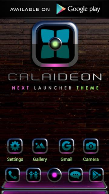 CALAIDEON Poweramp Widget screenshot 4