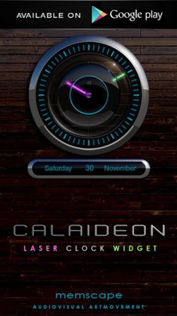 CALAIDEON Poweramp Widget screenshot 5