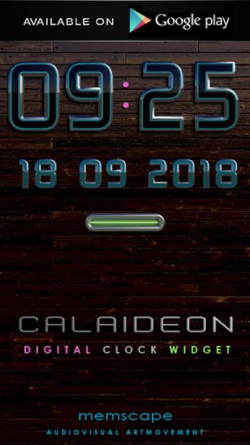 CALAIDEON Poweramp Widget screenshot 6