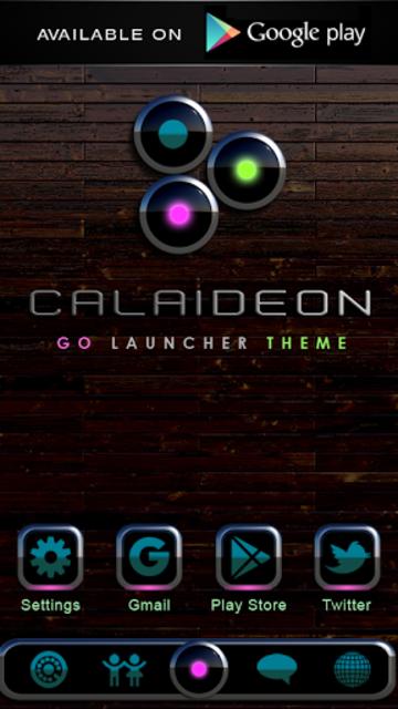 CALAIDEON Poweramp Widget screenshot 7