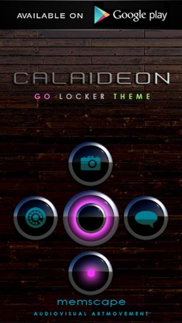 CALAIDEON Poweramp Widget screenshot 8