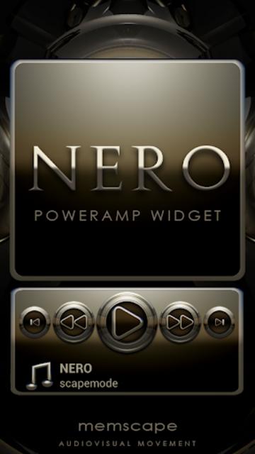 NERO Poweramp Widget screenshot 1