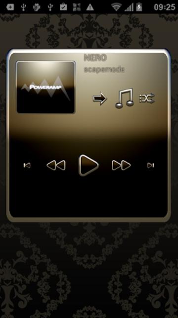 NERO Poweramp Widget screenshot 2