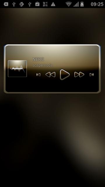 NERO Poweramp Widget screenshot 3
