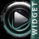 Icon for Poweramp widget Petrol Glow