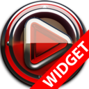 Icon for Poweramp widgetpack - Red Glas