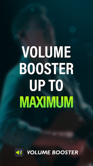 Volume Booster and Equalizer, MP3 Music Player screenshot 1