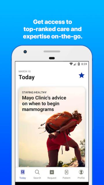 Mayo Clinic screenshot 3