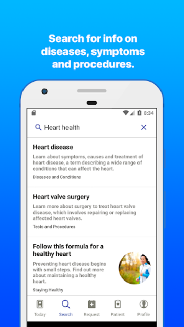 Mayo Clinic screenshot 5