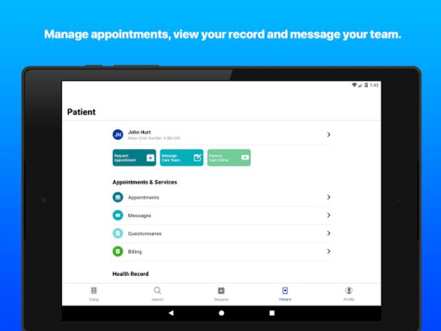 Mayo Clinic screenshot 13