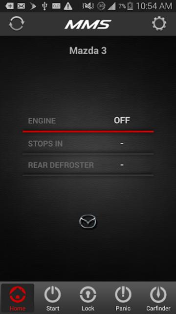 Mazda Mobile Start screenshot 1