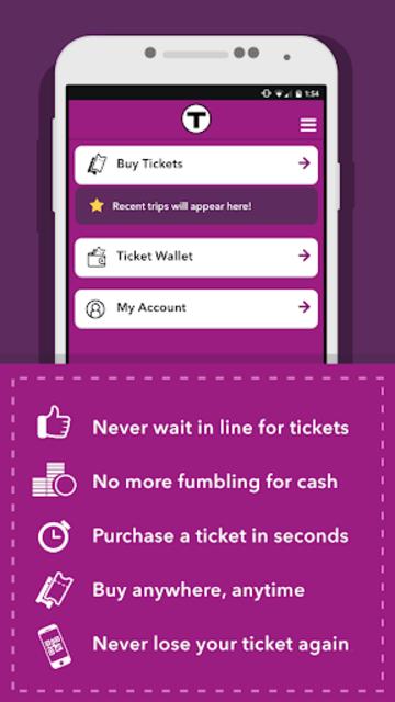 MBTA mTicket screenshot 1
