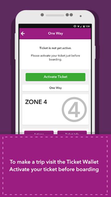 MBTA mTicket screenshot 4