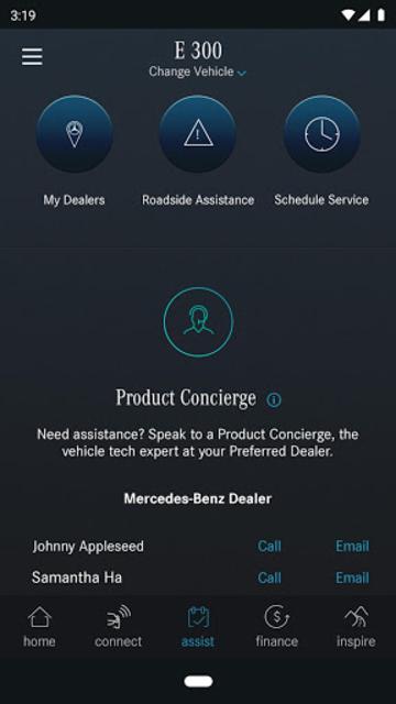 Mercedes me (USA) screenshot 4