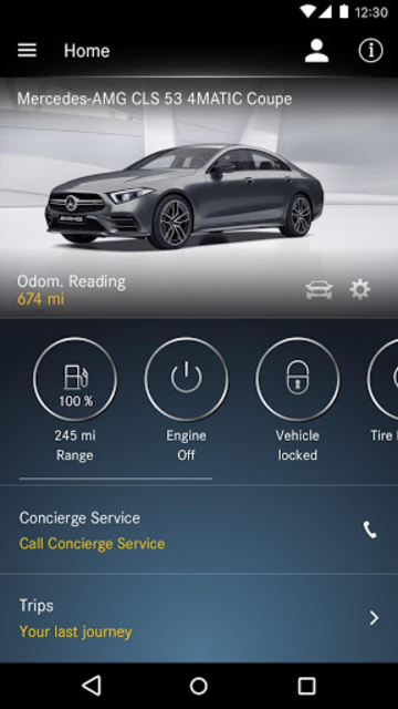 Mercedes me connect (USA) screenshot 3
