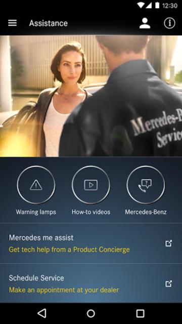 Mercedes me connect (USA) screenshot 5