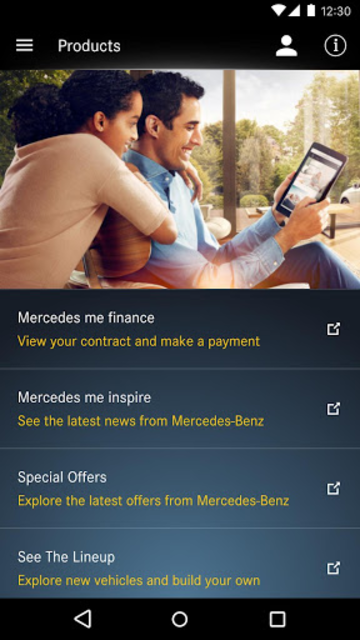 Mercedes me connect (USA) screenshot 6