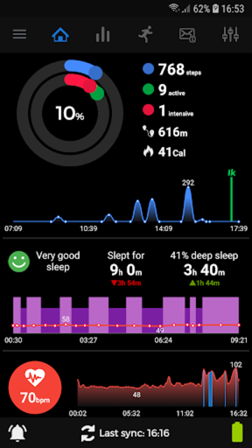 Notify & Fitness for Mi Band screenshot 7